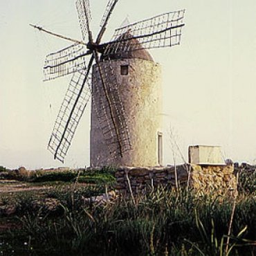 Mühle in Ibiza